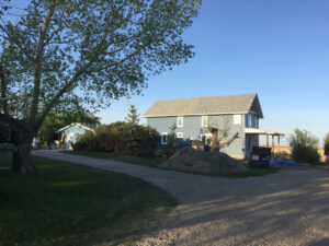 Mike and Morgan Residence near Vulcan, AB.